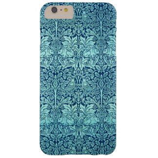 William Morris Brother Rabbit Pattern in Blue Barely There iPhone 6 Plus Case
