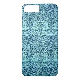 William Morris Brother Rabbit Pattern in Blue iPhone 7 Plus Case