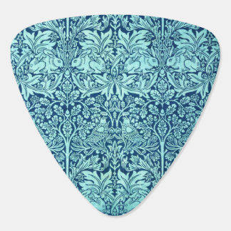 William Morris Brother Rabbit Pattern in Blue Plectrum