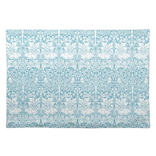 William Morris Brother Rabbit Pattern Placemat