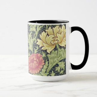 William Morris Chrysanthemum Vintage Floral Art Mug