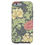 William Morris Chrysanthemum Vintage Floral Art Tough iPhone 6 Case