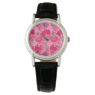 William Morris Chrysanthemums, Fuchsia Pink Watch