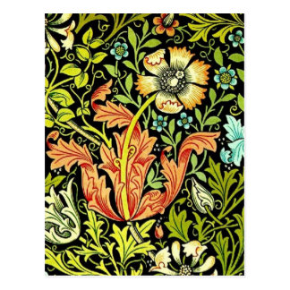 "William Morris ""Compton"" Postcard"