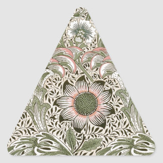 William Morris Corncockle Triangle Sticker