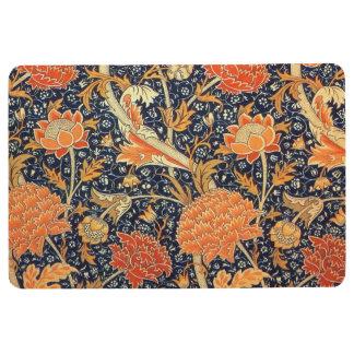 William Morris Cray Floral Art Nouveau Pattern Floor Mat
