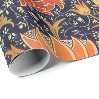 William Morris Cray Floral Art Nouveau Pattern Wrapping Paper