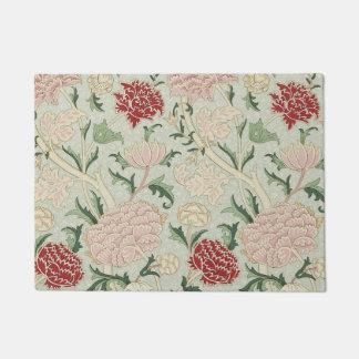 William Morris Cray Floral Pre-Raphaelite Vintage Doormat