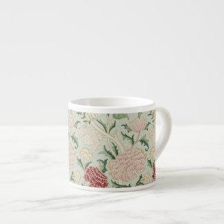 William Morris Cray Floral Pre-Raphaelite Vintage Espresso Mug