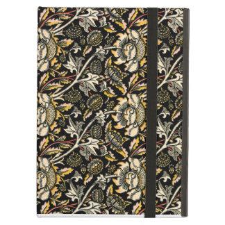 William Morris dark floral arabesque Case For iPad Air