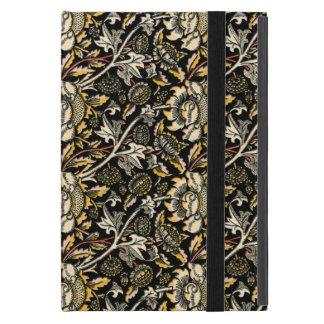 William Morris dark floral arabesque Cover For iPad Mini