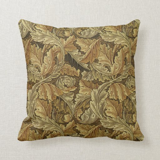 William Morris Design #2 Throw Pillows Zazzle.co.uk