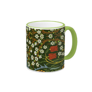 William Morris Design, Blackthorn design Ringer Mug