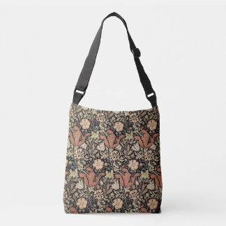 William Morris Design Crossbody Bag