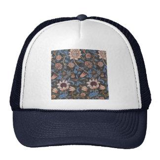 William Morris Evenlode Textile Pattern Hat