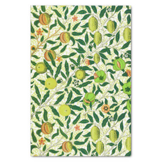 William Morris Exotic Fruit, Lemon Yellow Tissue Paper