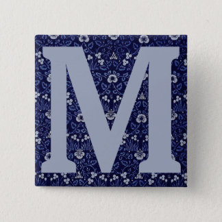 William Morris Eyebright Design 15 Cm Square Badge