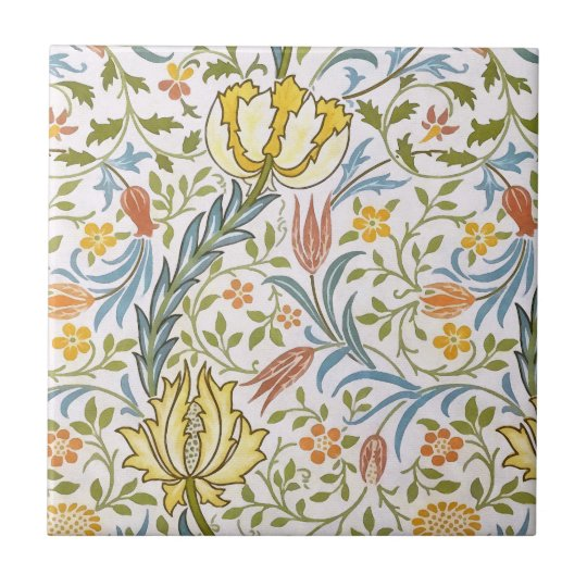 William Morris Flora Vintage Floral Art Nouveau Small