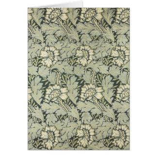 William Morris Floral Art Magnet 18 Greeting Card