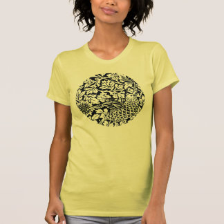 William Morris Floral Pattern Bird Flowers T Shirts