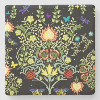 William Morris Floral Stone Coaster