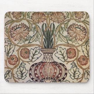 William Morris Flower Pot - Mousepad