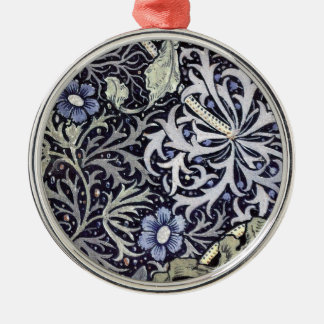 William Morris Flowers Christmas Ornament