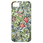 William Morris Golden Lily Floral Chintz Pattern iPhone 5 Cover
