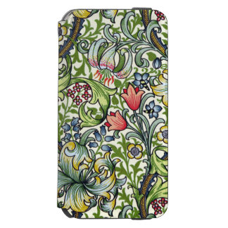 William Morris Golden Lily Floral Chintz Pattern Incipio Watson™ iPhone 6 Wallet Case