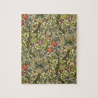 William Morris Golden Lily Jigsaw Puzzle