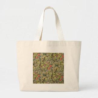 William Morris Golden Lily Large Tote Bag