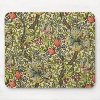 William Morris Golden Lily Pattern Mouse Mat
