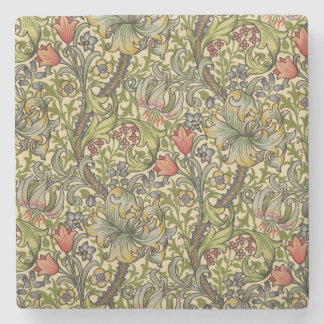 William Morris Golden Lily Stone Coaster