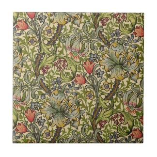 William Morris Golden Lily Tile