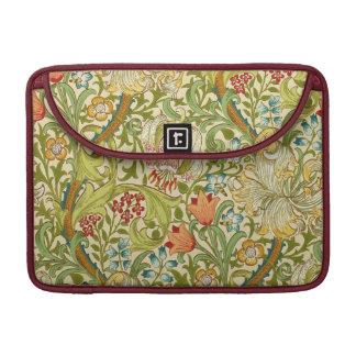 William Morris Golden Lily Vintage Pre-Raphaelite MacBook Pro Sleeves
