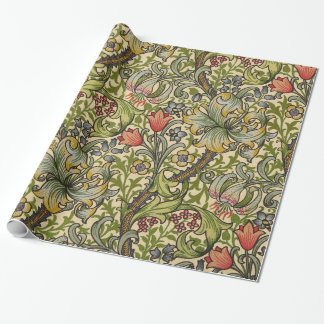 William Morris Golden Lily Wrapping Paper