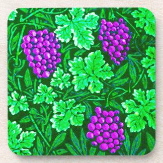 William Morris Grapevine, Purple and Green Coaster
