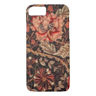 William Morris Honeysuckle Vintage Pattern iPhone 7 Case