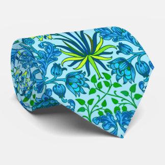 William Morris Hyacinth Print, Cerulean Blue Tie