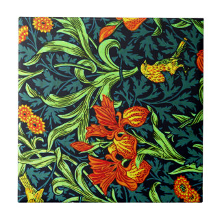 William Morris - Iris Small Square Tile