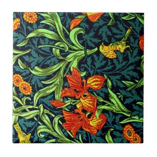 William Morris - Iris Tile