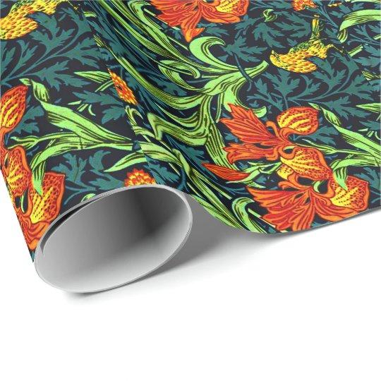 William Morris - Iris Wrapping Paper