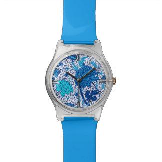 William Morris Jacobean Floral, Cobalt Blue Watches
