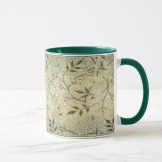 William Morris ~ Jasmine Blossoms & Leaves Mug