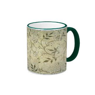 William Morris ~ Jasmine Blossoms & Leaves Mugs