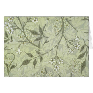 William Morris Jasmine Wallpaper Card