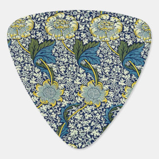 William Morris Kennet Pattern (Blue) Guitar Pick