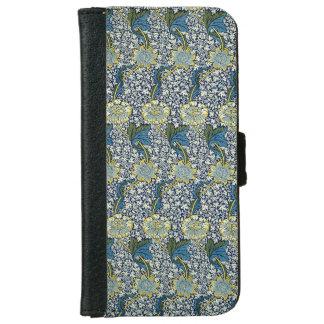 William Morris Kennet Pattern (Blue) iPhone 6 Wallet Case