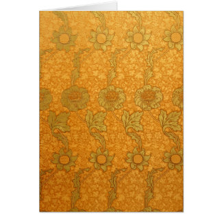 William Morris Kennet Pattern Card