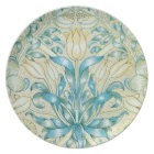 William Morris Lily and Pomegranate Pattern Plate